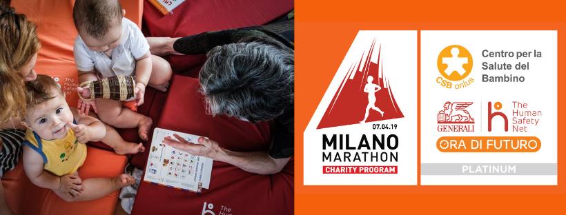 Alla Milano Marathon si corre per il Villaggio di Trieste!